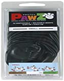 Pawz PZBLKS Water-Proof Dog Boots, Small, 2-Inch to 2.5-Inch, Black