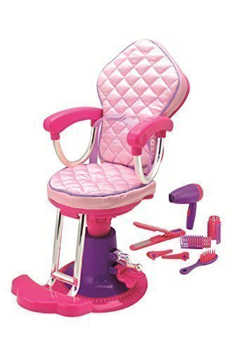 alon Chair and Accessories. Perfect For 18 inch American Girl Dolls ()