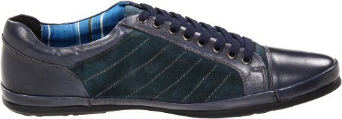 Auri Mens Jimmi Lace-up Sneaker Marine