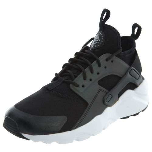 NIKE Air Huarache Run Ultra SE (GS) mens fashion-sneakers 942121-006_5.5Y - Black/Wolf Grey-White by NIKE