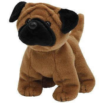 TY Rootbeer the Pug Beanie Baby by TY~BEANIES DOGS