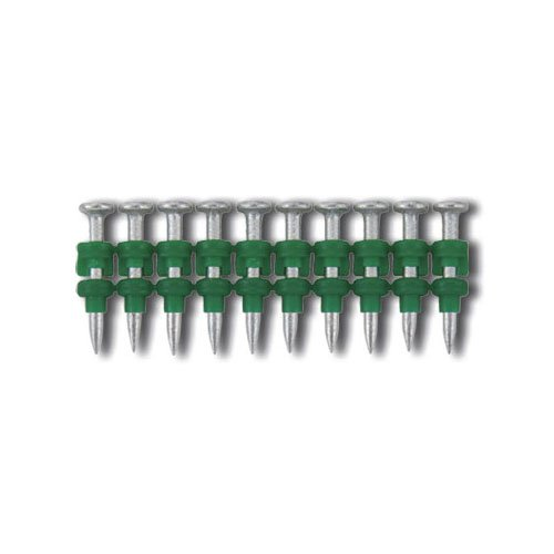 1-1/4'' x 0.102'', Powers Standard 0.102'' Straight Pins for Powers Gas Fastening Systems, Zinc Plated, 800/Bx