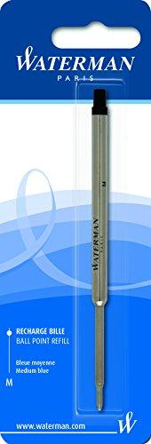 Waterman S0944490 Kugelschreibermine (M) Tinte in blau