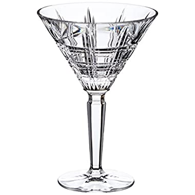Marquis by Waterford Crosby Martini Pair, Clear