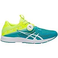Women's Asics GEL-451 Running Shoe (Flash Yellow/Lagoon)