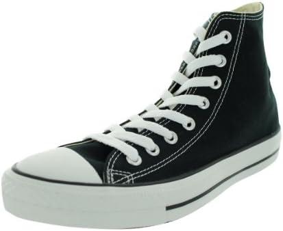 Aggrovigliati congratulazioni fieno  Amazon.com | Converse M9160: Chuck Taylor All Star High Top Unisex Black  White Sneakers | Basketball