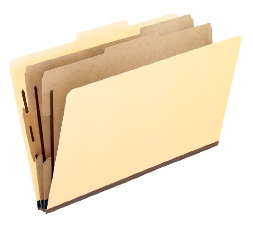 Pendaflex Manila Economy Classification Folders, Letter Size, 6-Section, 15 per Box (3252)