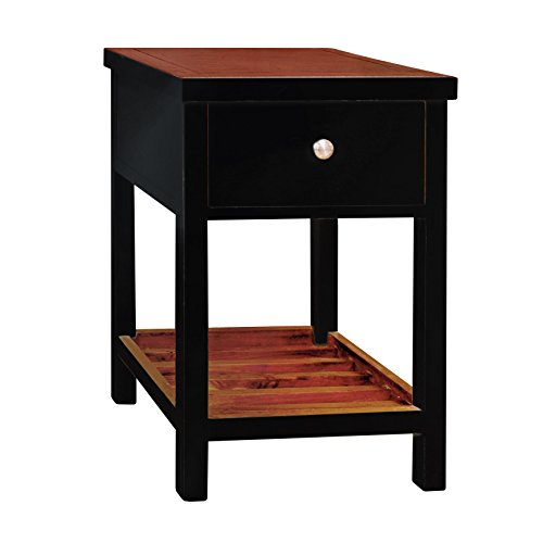814110021677 - Tonality Designs Pari Classic Side Table, Aqua carousel main 2