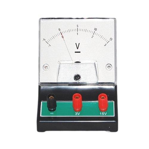 Sci-Supply LC20408 Analog DC Voltmeter 0-3//0-15V DC