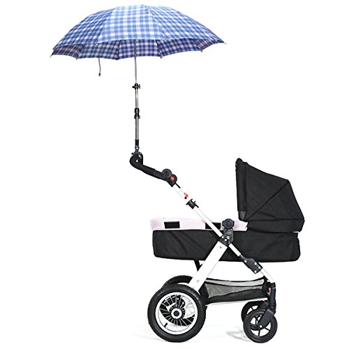 Amazon.com - Baby Stroller Adjustable Umbrella Holder Parasol Bracket // Cochecito de bebé paraguas ajustable soporte titular sombrilla -