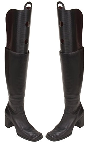 Wander Agio Womens Fresh Tall Boot Shapers Tree Multifunction Long Thigh Boots Breathable Support Black 3 Pairs (Updated Version, Wont Broken)