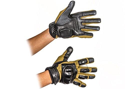 Condor Leather Gloves - Condor Syncro Tactical Gloves - Tan (Medium)