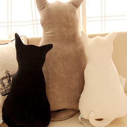 lightclub Cute Cat Soft Plush Back Shadow Toy