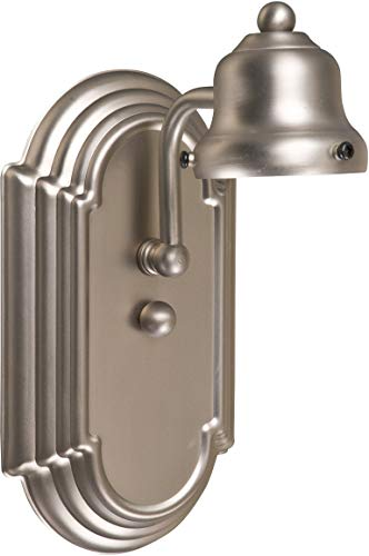 Craftmade 11708BN1 Racetrack Arch Arm Wall Sconce Lighting, 1-Light, 100 Watts, Brushed Satin Nickel (5