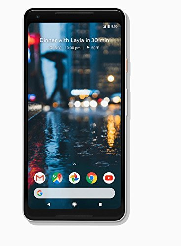 Google Pixel 2 XL 128 GB, White (Renewed)