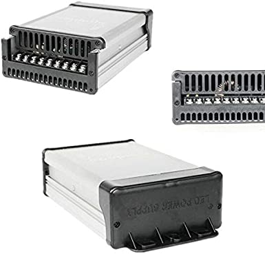 DC 24V 400W Fuente de alimentación conmutada, AC 110V / 220V Fuente de alimentación del transformador de voltaje, para tiras de LED, CCTV, impresora 3D