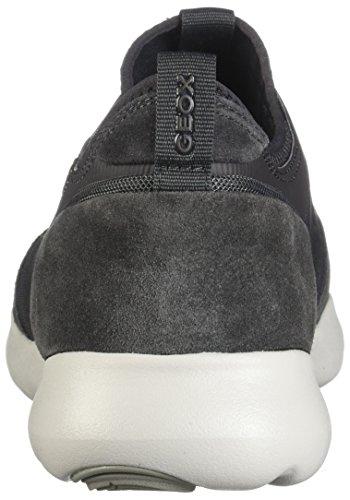 Geox Shoes U825AA 2211 C9002 Grey 9vYl5XC