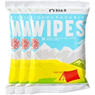 Biodegradable Cleansing Body Wipes (3-Pack, 30ct) Tea Tree Oil & Aloe Vera - Extra Large & Thick Bamboo Cleansing Wipes - Travel Wipes Great for Camping, Gym, Races, Festivals, Shower Wipes