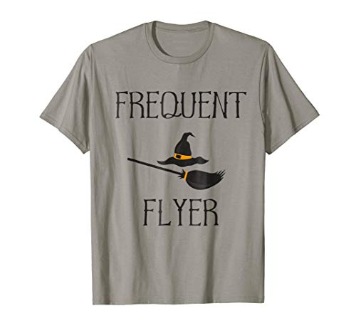 Frequent Flyer - Funny Witch Halloween Costume