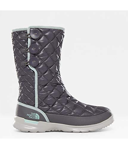 Insulated Shinyblackndpearl North Snow Face Boots The bluhaze up Thermoball Button Women's AYnqTwz