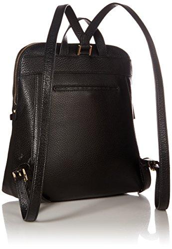 c39d453cb203f9 Michael Kors Rhea Zip Medium Slim Backpack in Black by Michael Kors (Image  #1