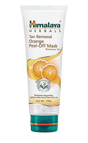 Himalaya Herbals Tan Removal Orange Peel-off Mask, 100g