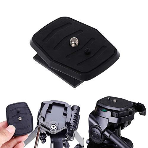 FidgetFidget Tripod Quick Release Plate Universal QB-4W Screw Adapter for YUNTENG Velbon Sony