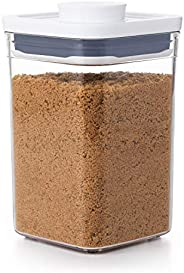 Pote Pop OXO Good Grips – Armazenamento hermético de alimentos – 1,1 L para açúcar mascavo e mais