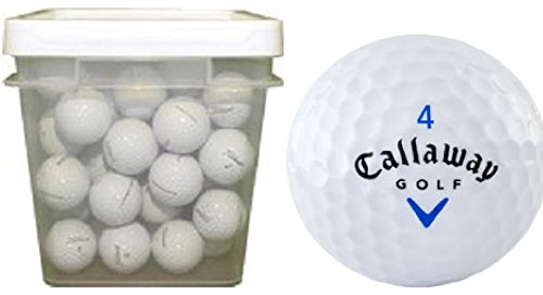 Callaway Mix Assorted Recycled Golf Balls (100-Ball Bucket)