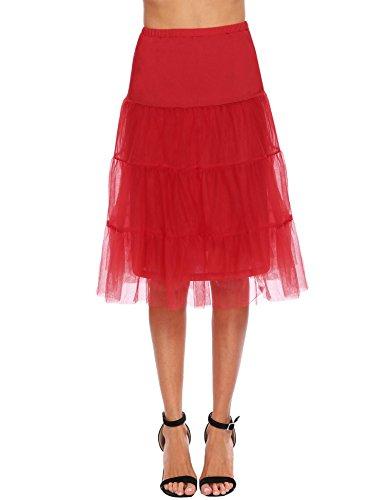 Chigant Chigant Jupon Trapze Femme Rouge Chigant Jupon Trapze Rouge Jupon Femme raPBqEr