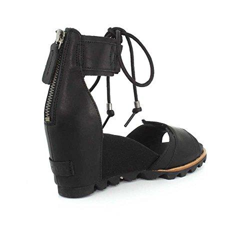 Ankle Joanie Sorel Black Womens 1787291 Noir Lace wqAf1