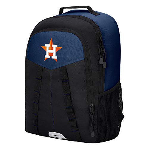 Houston Astros Bag - The Northwest 1MLB1C6412013RTL Houston Astros Scorcher Backpack, Black, One Size