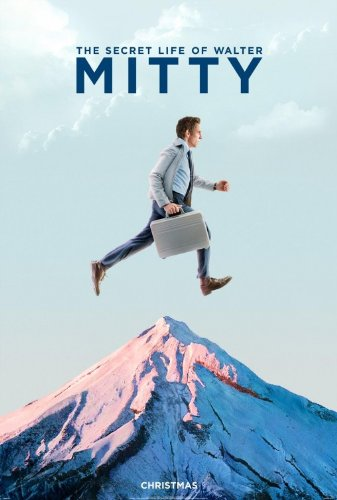 Poster-The Secret Life Of Walter Mitty Original Official Rolled double-sided Poster With Fast Ship