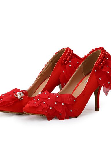 cn39 us8 4in 3 3 uk6 Tacones GGX 3in Boda us8 Vestido Rojo 3 eu39 eu39 3 Fiesta Mujer 3 Tacones Zapatos Noche 3in cn39 de 4in cn39 3 uk6 us8 eu39 boda uk6 y 3in 4in O1qwx1pSg