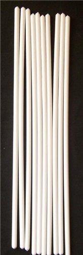 10 x 12inch White Plastic Cake Dowels