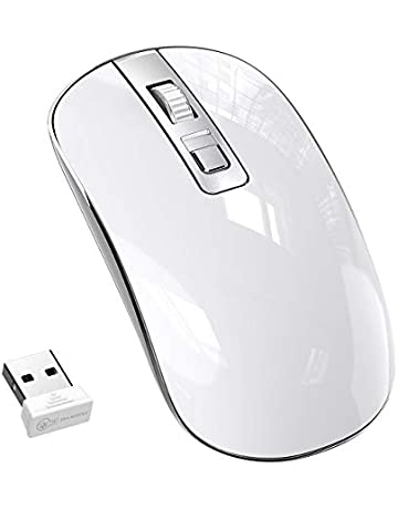 5057ecf76c8 Wireless Mouse,【Slim & Noiseless, Attractive and stylish Design】Patuoxun  2.4G