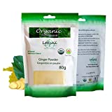 Certified Organic 80g/2.86oz Gourmet Ginger Fresh Powder