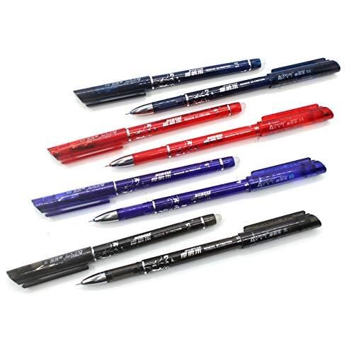 Erasable Gel Pens 12pcs/calligraphy Pen Nibs Pack Erasable Pen Refills Pilot Erasable Gel 4 Color Avaliable For Office