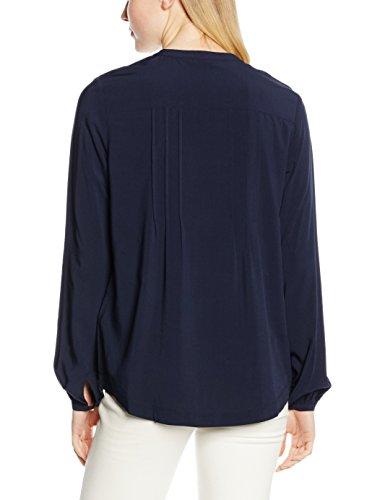 TOMMY HILFIGER Josie Blouse LS, Blusa para Mujer Blau (NAVY BLAZER 400)