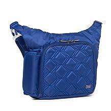 Lug Sidecar Cross Body and Waist Pack Messenger Bag, Cobalt Blue