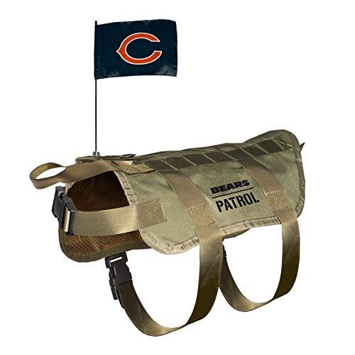 - NFL Chicago Bears Pet Tactical Vest, XL/Big Dog
