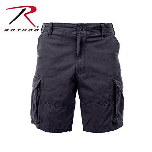 Rothco Vintage Paratrooper Shorts, Black, Large