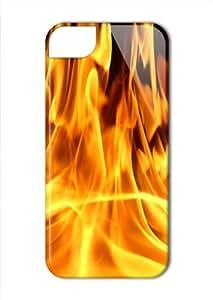 Case Fun Apple iPhone 5 / 5S Case - Vogue Version - 3D Full Wrap - Fire