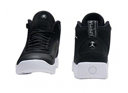 Jordan Nike Männer Jumpman Pro Basketballschuh Schwarz-Weiss