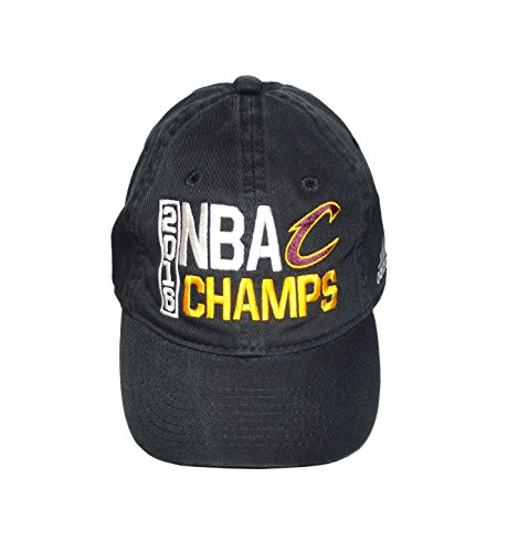 Cleveland Cavaliers Black 2016 NBA Finals Champions Locker Room Champs Adjustable Dad Hat / ()