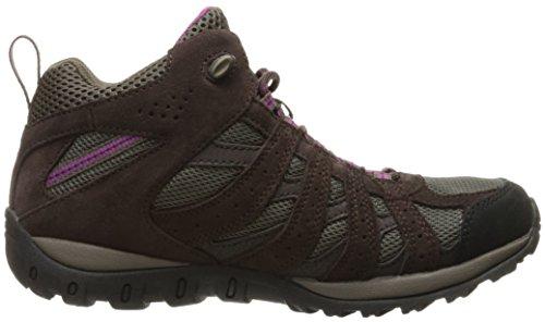 intense Violet 256 Mid De Columbia Redmond Chaussures Randonnée mud Hautes Femme Marron 1qvRwzC