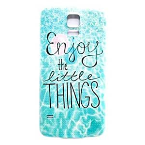 Waves Pattern Thin Hard Case Cover for Samsung Galaxy S5 I9600