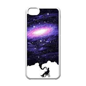 Custom Colorful Case for Iphone 5C, Painting The Universe Cover Case - HL-R677091