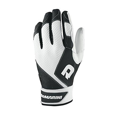 DeMarini Youth Phantom Batting Gloves, Black,