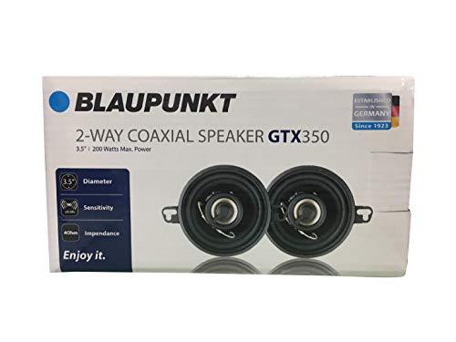 4 Way Coaxial Car Audio Speaker Blaupunk GTS655M 6.5 Inch 250W Slim Line Set of 2 Blaupunkt